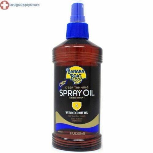 Banana Boat Deep Tanning Oil Spray, SPF 4 8 oz