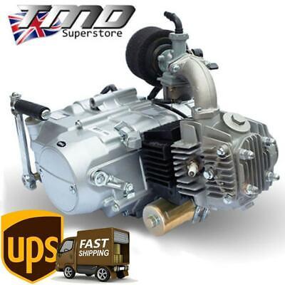 YX125 BIG VALVE Electric Start Engine Pit Bike Monkey Quad C90 4 stroke 153FMI for sale  Dudley