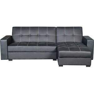 Sectional Couch w/ Pull Out Bed