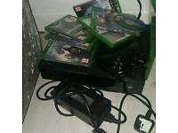 Xbox one. With games & headset