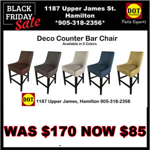 Counter & Bar Chair SPECIAL 50% OFF