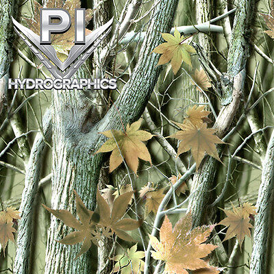 Hydrographic Film Hydro Dipping Transfer Hydro Dip Clear Brown Leaf Camo Hc2512