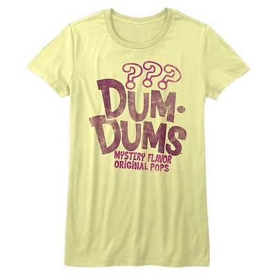 Dum Dums Candy Suckers Mystery Flavor Original Pops Womans Fitted T Shirt