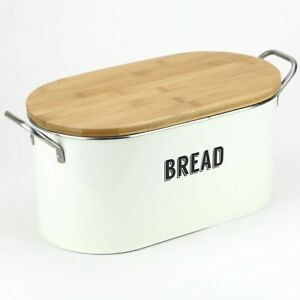 Brand NEW Typhoon Retro Bread Bin/ Bread box in Cream color