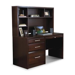 Brand new desk with additional filing cabinet & chair