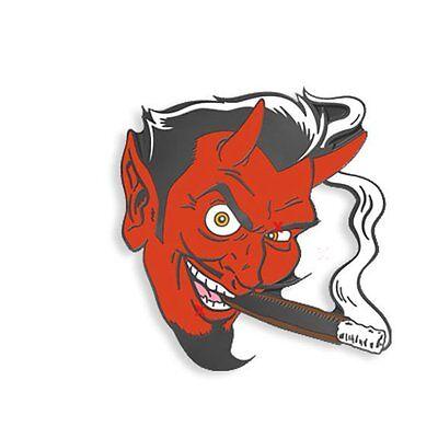 Smoking Devil by Coop Yesterdays Pins