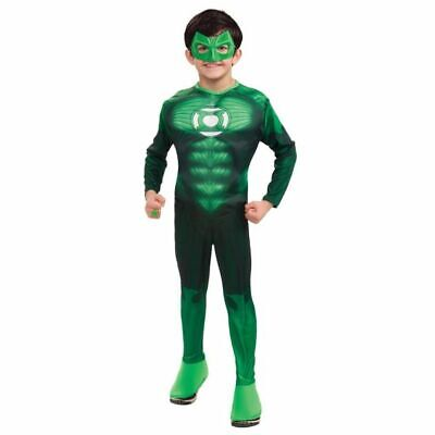 RUBIE'S LICENSED GREEN LANTERN HAL JORDAN CHILD HALLOWEEN COSTUME MEDIUM 884571](Green Lantern Costume Child)