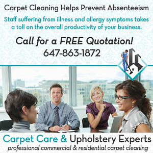 Looking for Carpet Cleaning Assistant