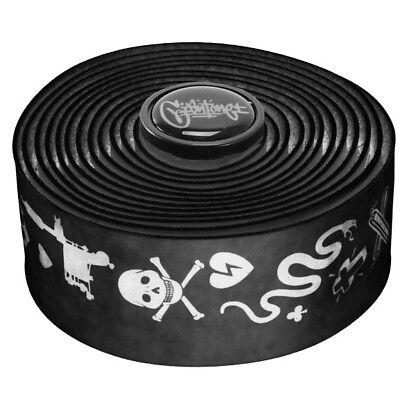 NEW Cinelli Mike Giant Velvet Touch Bicycle Handlebar Tape Black Art Tape #1