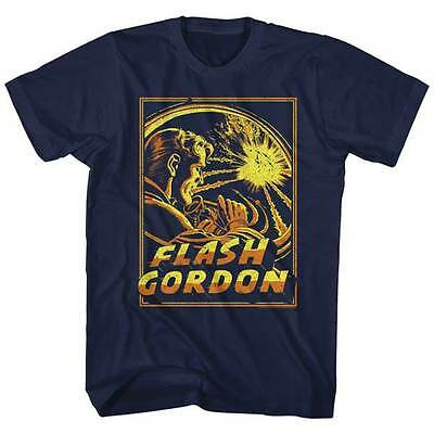 Flash Gordon Movie Space Explosion Adult T Shirt ](Adult Flash Movie)