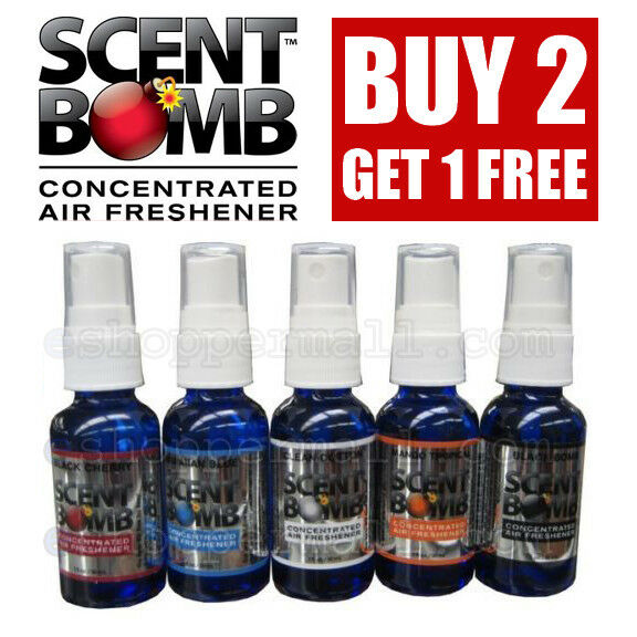 *BUY 2 GET 1 FREE* SCENT BOMB 100% Concentrated Air Freshene