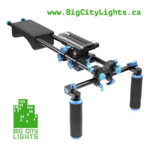 Big City Model 1 Shoulder Rig, add some stability to your shots