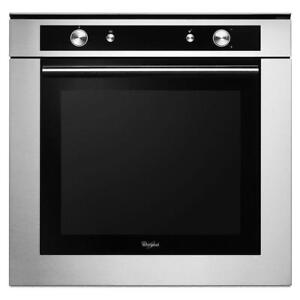 "Whirlpool WOS52EM4AS Stainless Steel 24"" Single Wall Oven Convection"