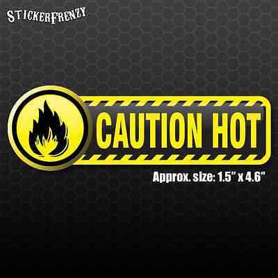 cker #FE103 - Laminated warning Vinyl Label Decal Safety (Hot-sticker)