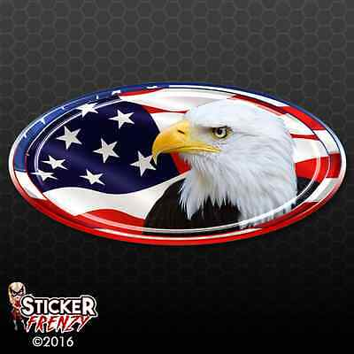 Eagle Head Decal (USA Oval