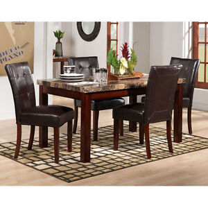 DINING ROOM Table Set ~MALLORY Collection~Seats 6