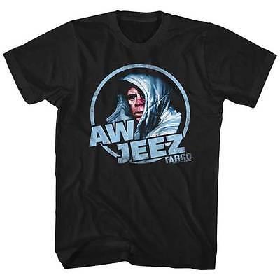 Fargo William Macy Aw Jeez Adult T Shirt Great Movie - Aw Adult
