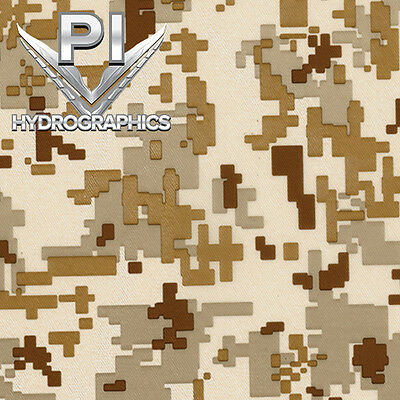 Hydrographic Dip Hydrographic Film Water Transfer Hydro Dip Desert Camo Mc231