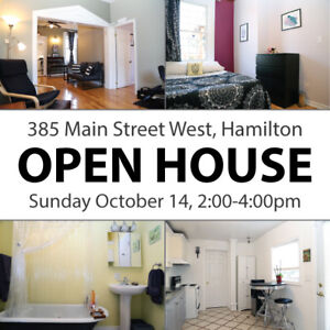 OPEN HOUSE! Cozy 2Bed Home in Amazing Kirkendall North, Hamilton