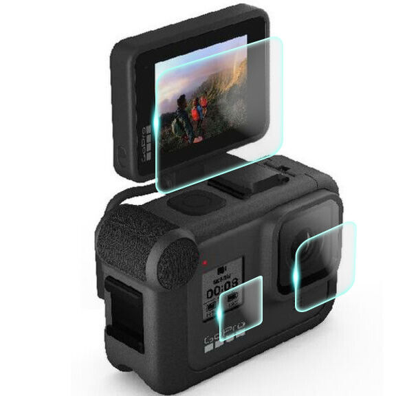 Crystal Clear Screen Protector for GoPro Hero 8 Digital Camcorder