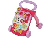 Vtech baby walker (pink) - Byfleet
