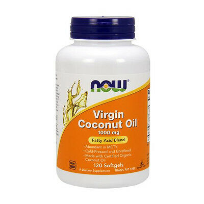 NOW Foods - Virgin Coconut Oil 1000 mg. - 120 Softgels