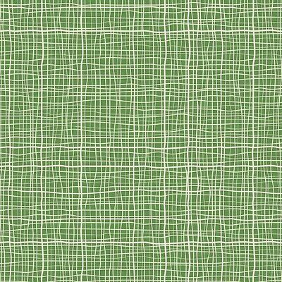 Treasure Map Crosshatch Green by Lesley Grainger for Riley Blake, 1/2 yd fabric
