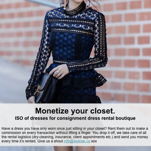 ISO Special Occasion Dresses! Make money off your dresses