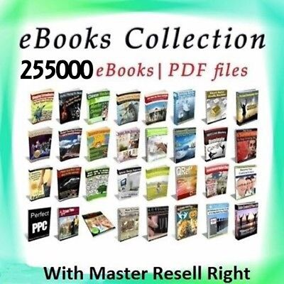 255000 eBooks Package Collection   Pdf Format   With Master Resell Rights