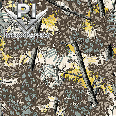 Hydrographic Dip Hydrographic Film Water Transfer Printing Gray Camo Rc350