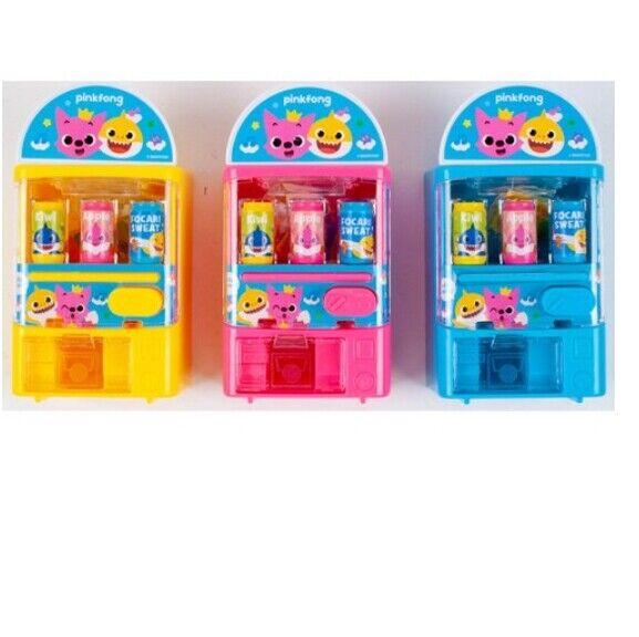 Pinkfong Baby Shark Family Automaten Mini Spielzeug 62 * 45 * 114mm 3 Farben Set