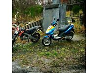 Urgent Baotian 50cc 70cc 82cc modified tuned moped scooter road legal