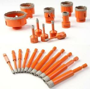 Vacuum Brazed diamond dry Drills bits