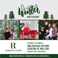 WINTER MINI SESSIONS • ONLY $95!