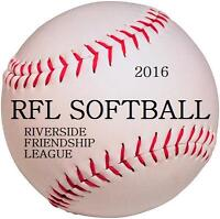 RFL Softball Registration