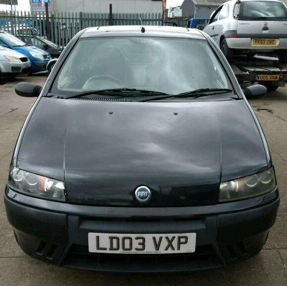 Fiat Punto 2003 - Black