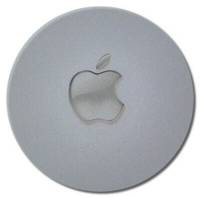 CLEAR APPLE printed Round MOUSE MAT mousemat pad suitable for mac imac macbook