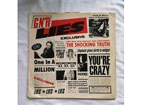 Guns and roses vinyl lp rock music