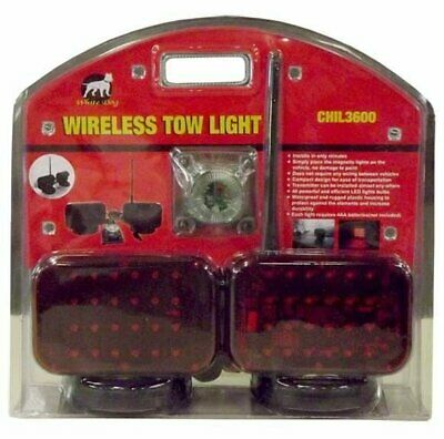 Wireless Tow Lights with 48 LED light bulbs (24 in each light)