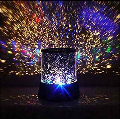 LED Romantic Starry Night Sky Projector Lamp ...