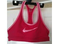 Nike sports running top (size small - uk 8/10