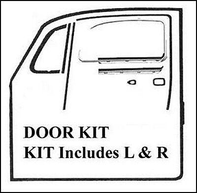 VOLKSWAGEN (VW) BEETLE SEDAN COMPLETE DOOR KIT 1969-77