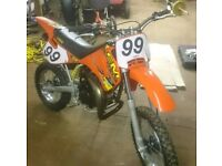 LEM 50cc LX4 kids motorcross bike
