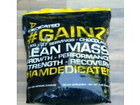 Gain coean mass nearly full protein powder cost over 50 i looking for 25£Can deliver or post!