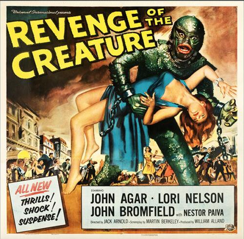 REVENGE OF THE CREATURE(Universal International, 1955)-SIX SHEET REPRODUCTION