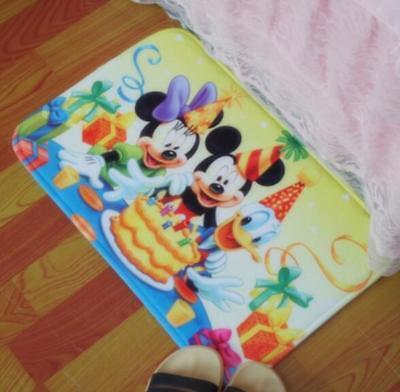 mickey minnie party foot pad door mat non-slip pads ground mats cute manga
