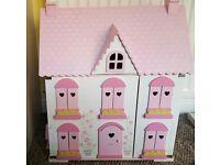 ELC dolls house, furniture and campervan