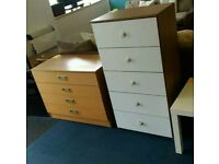 Good solid drawers. Can deliver for free.