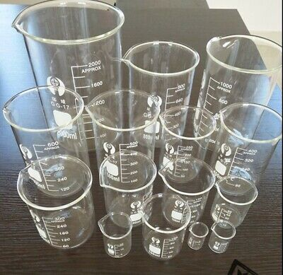 Gg17 Chemistry Borosilicate Glass Beaker 5ml--2000ml