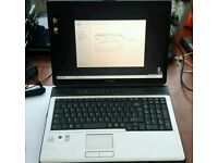 Toshiba l350 laptop Intel dual core 2gb memory 120gb hard drive webcam